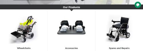 Screenshot of Greencare website